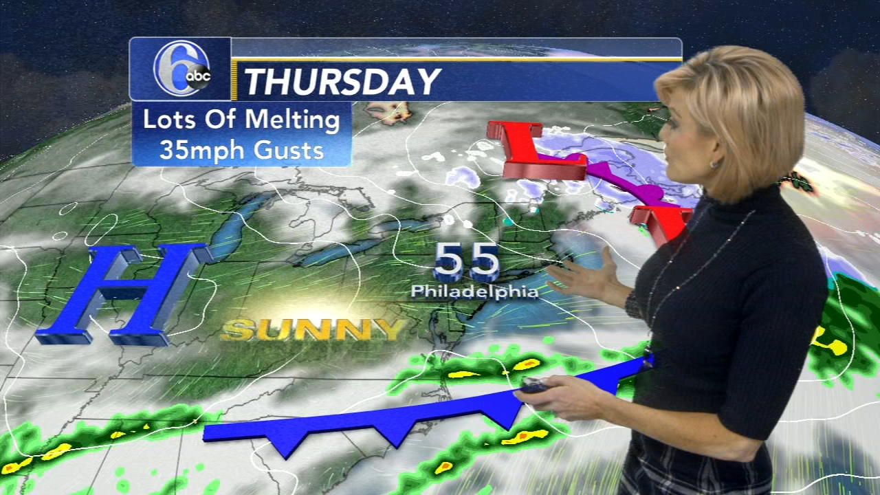 Cecily Tynan has your AccuWeather forecast during Action News at 11 p.m. on Feb. 20, 2019.