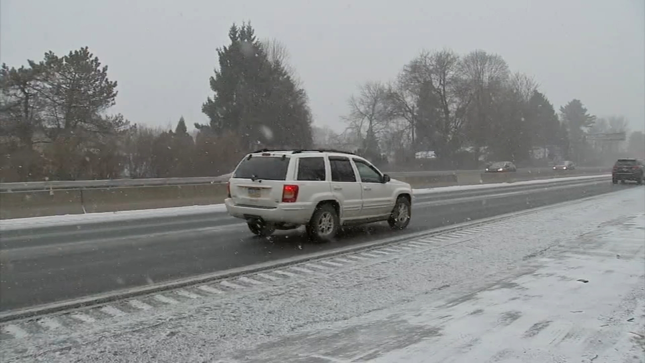 Sleet expected in the Lehigh Valley as rush hour nears. Walter Perez reports during Action News at 12:30 p.m. on February 20, 2019.