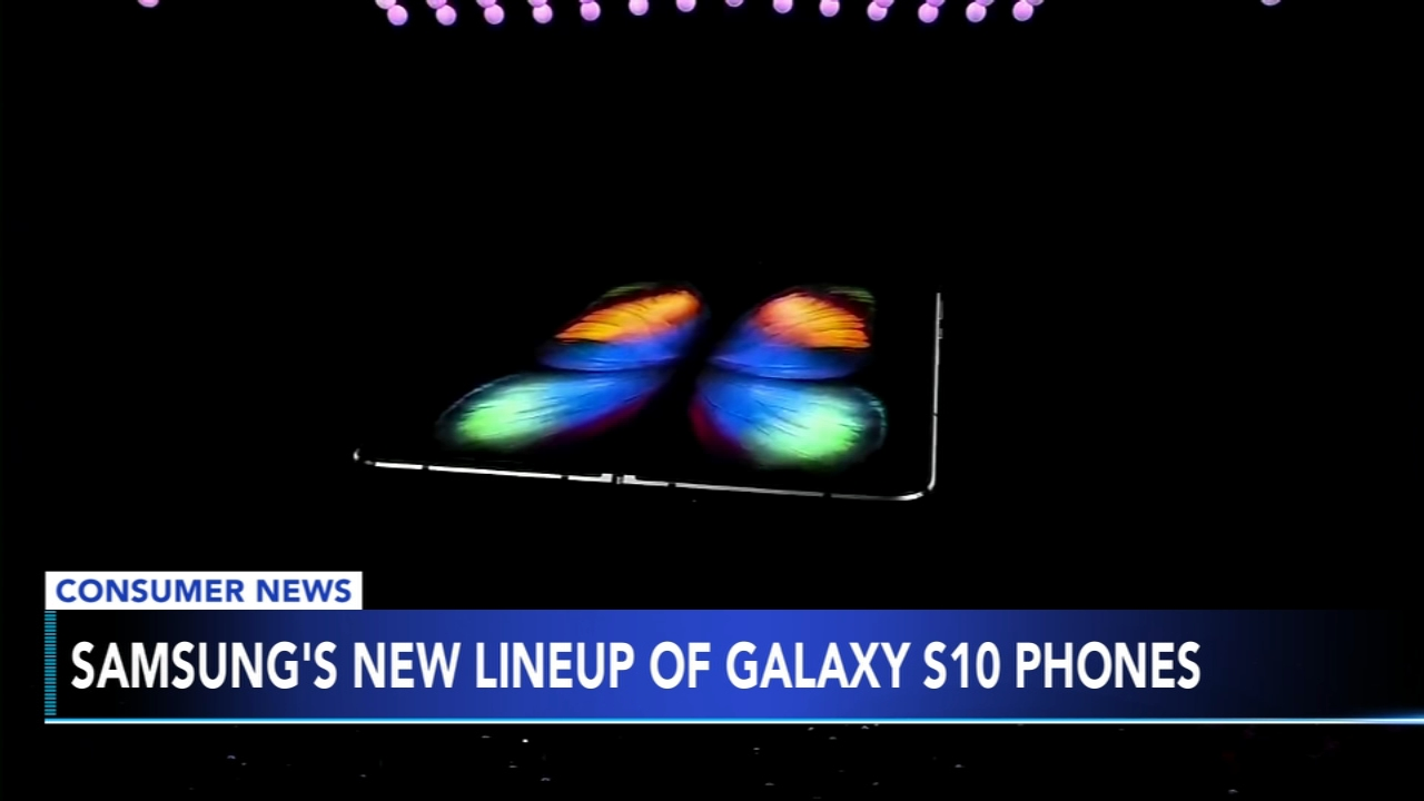 Samsung unveiled a highly anticipated smartphone with a foldable screen. Brian Taff has more on Action News at 10 p.m. on Feb. 20, 2019.