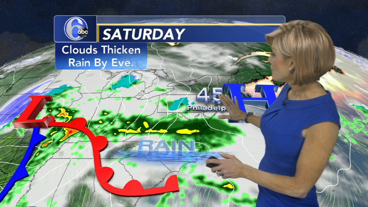 Cecily Tynan has your AccuWeather forecast as seen on Action News at 11 p.m. on Feb. 21, 2019.