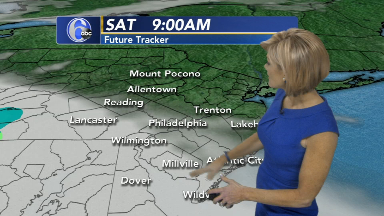 Cecily Tynan has your AccuWeather forecast as seen on Action News at 6 p.m. on Feb. 21, 2019.