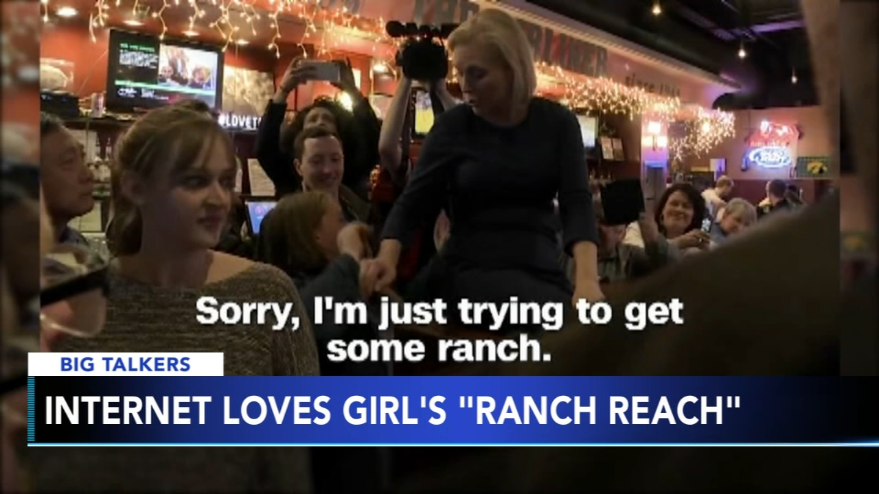 Internet loves Iowa girls ranch reach behind Senator Gillibrand. Brian Taff reports during Action News at 4 p.m. on February 21, 2019.