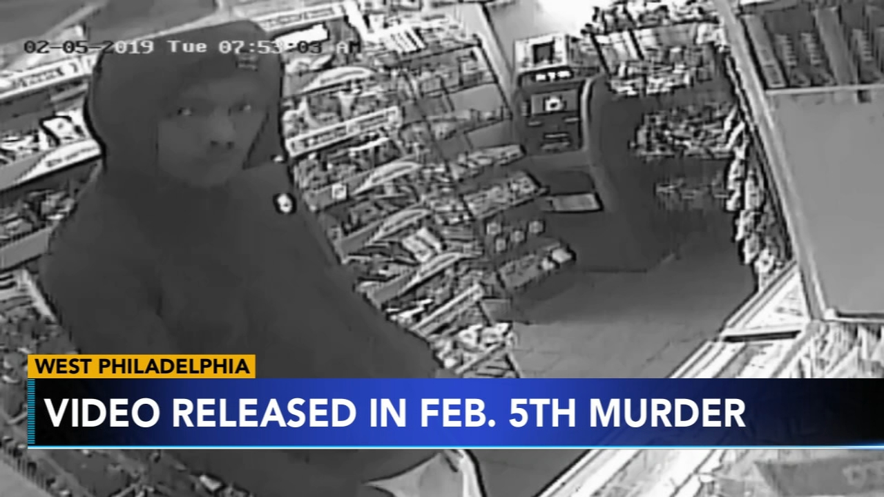 Police release video of alleged corner store gunman: as seen on Action News at 4 p.m., February 21, 2019