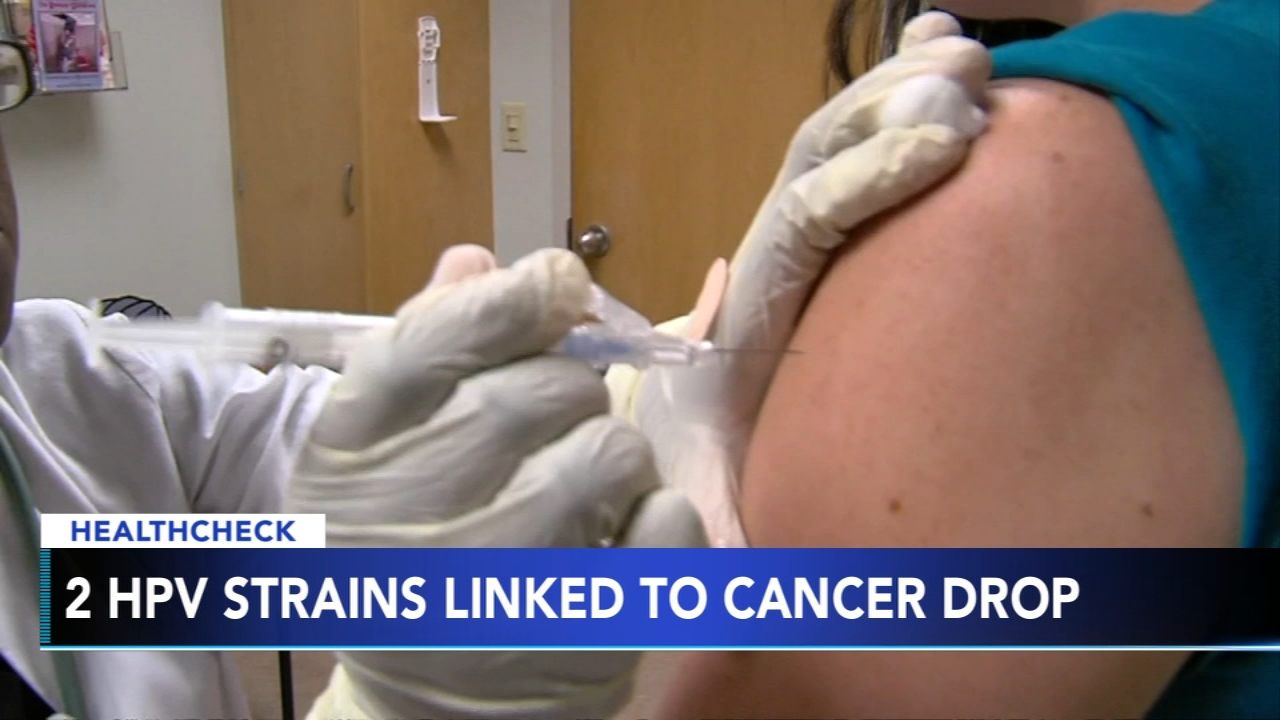 2 HPV strains linked to cervical cancer drop - Ali Gorman reports during Action News at 5pm on February 21, 2019.