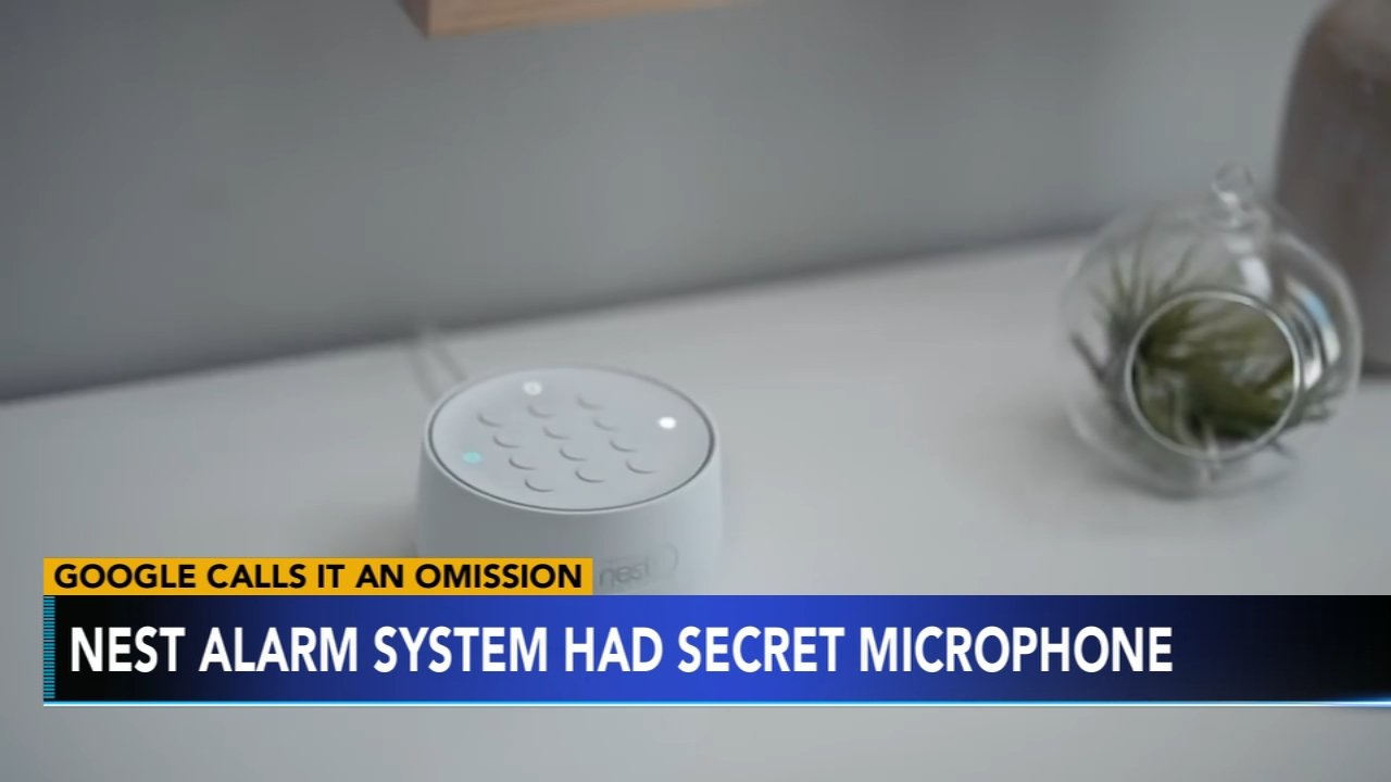 Google calls Nest secret microphone an omission. Brian Taff reports during Action News at 4 p.m. on February 21, 2019.