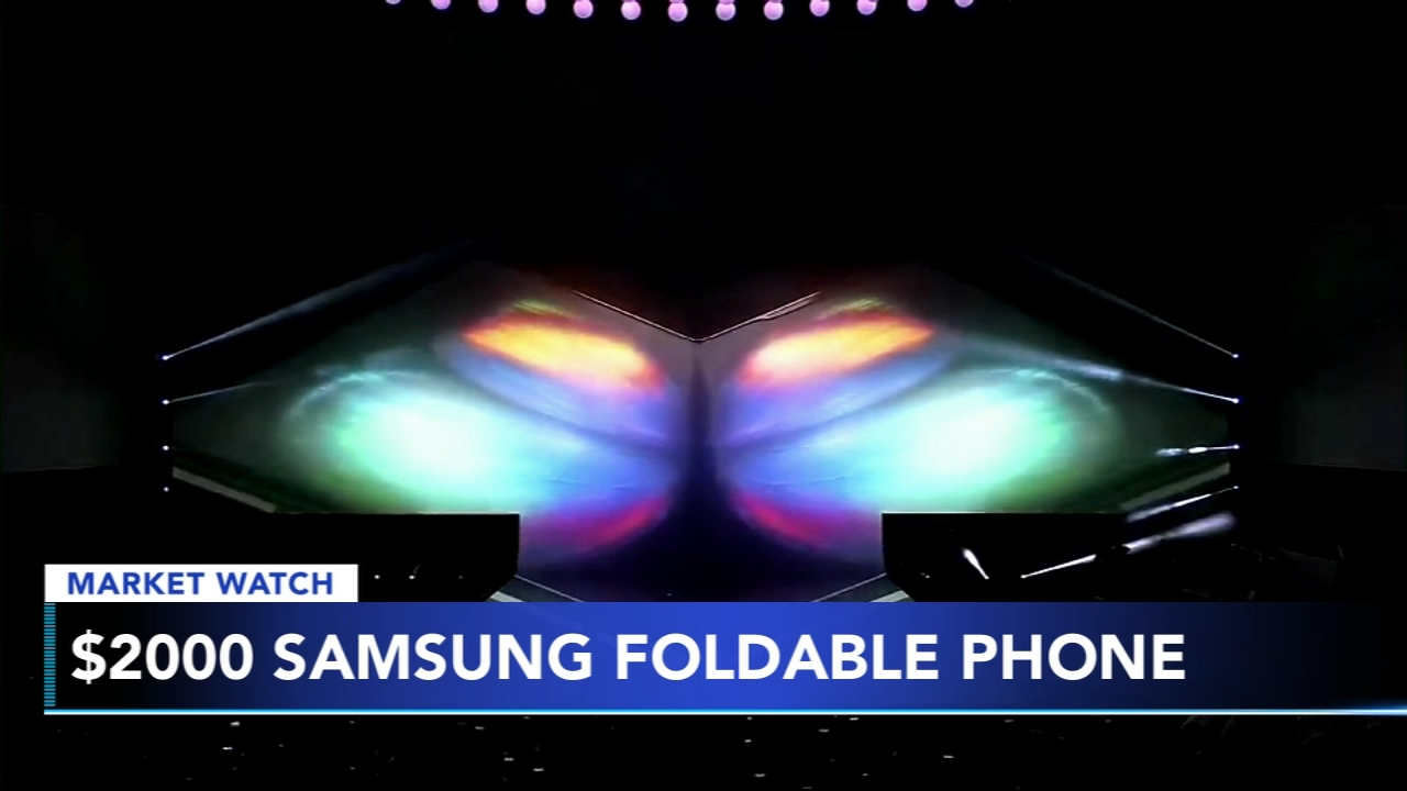 Samsung folding phone is different - but also almost $2,000. Maribel Aber reports during Action News Mornings on February 21, 2019.