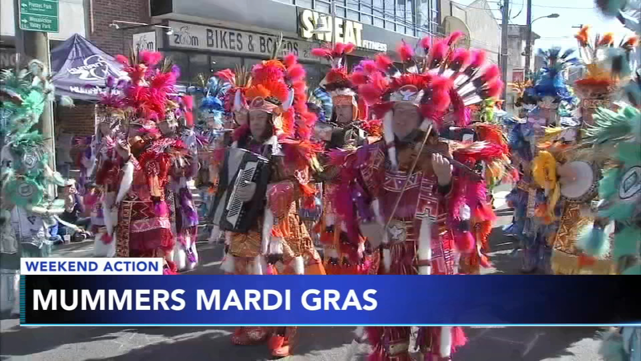 The Mummers are back in action this week. Plus, Kennett Winterfest and the Flyers skate at the Linc on this packed weekend.