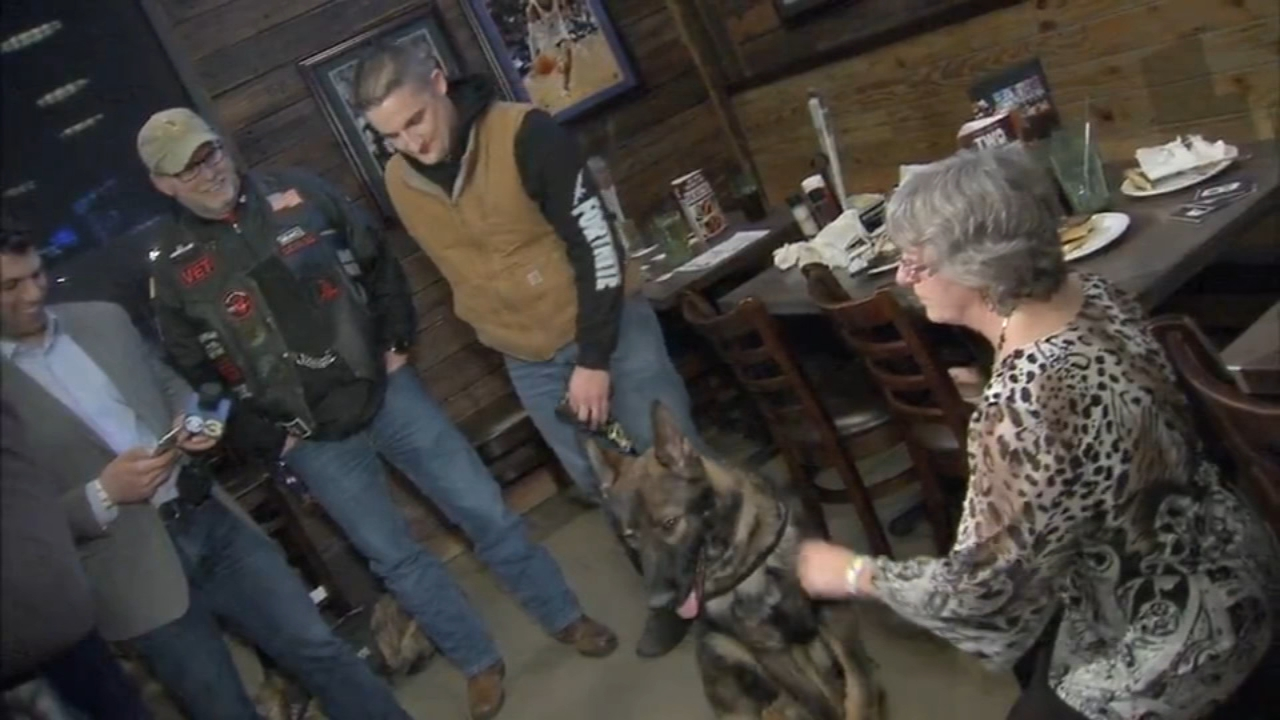 Steve Staub thought he was just hanging out with friends. Instead, he got the service dog he applied for. Trish Hartman has more on Action News at 11 p.m. on Feb. 22, 2019.