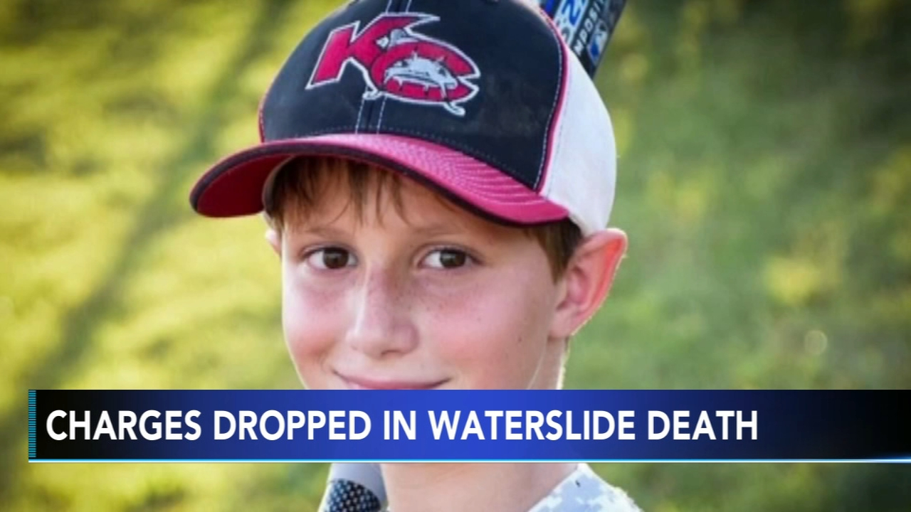 A judge dismissed criminal charges against a Kansas water park owner and the designer of a 17-story slide on which a 10-year-old boy was decapitated in 2016. Monica Malpass has mor