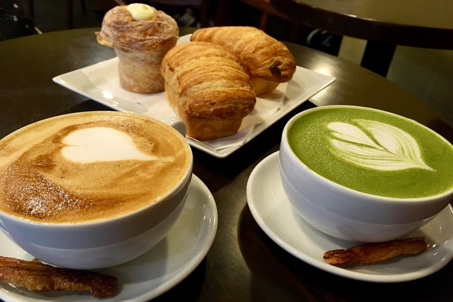 ICI Macarons and Cafe.   Photo: Jacqueline Z./Yelp