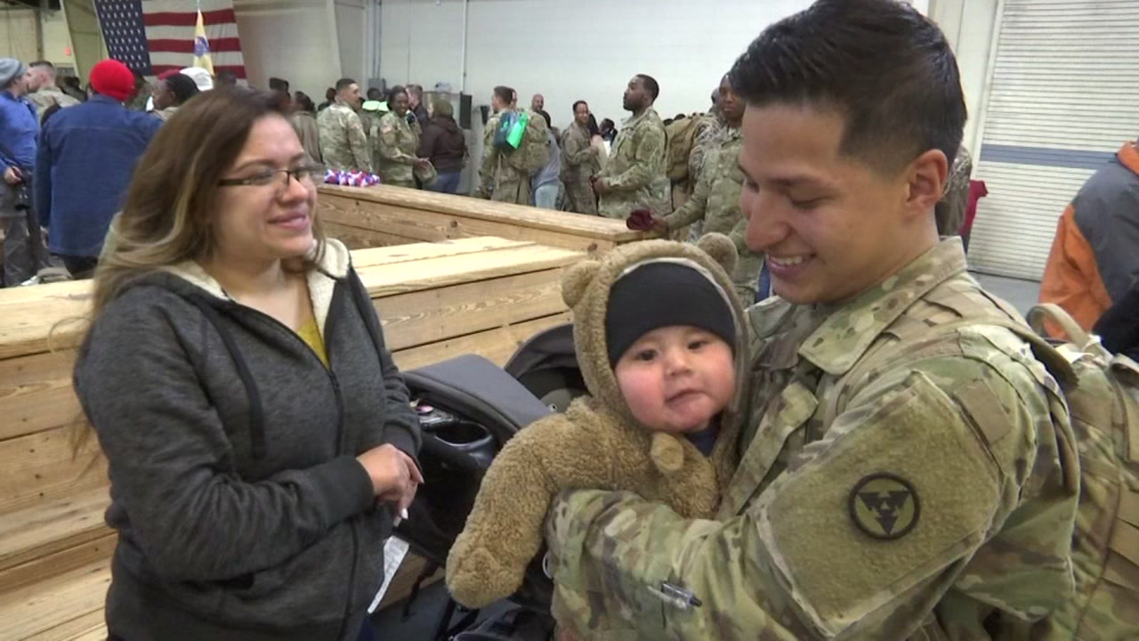 Fort Bragg soliders return home from Iraq
