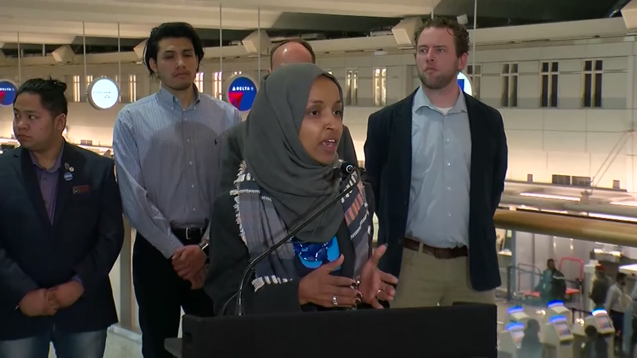 Freshman Democratic Rep. Ilhan Omar unequivocally apologized on Monday for tweets about the influence in Congress of an American organization that supports Israel.