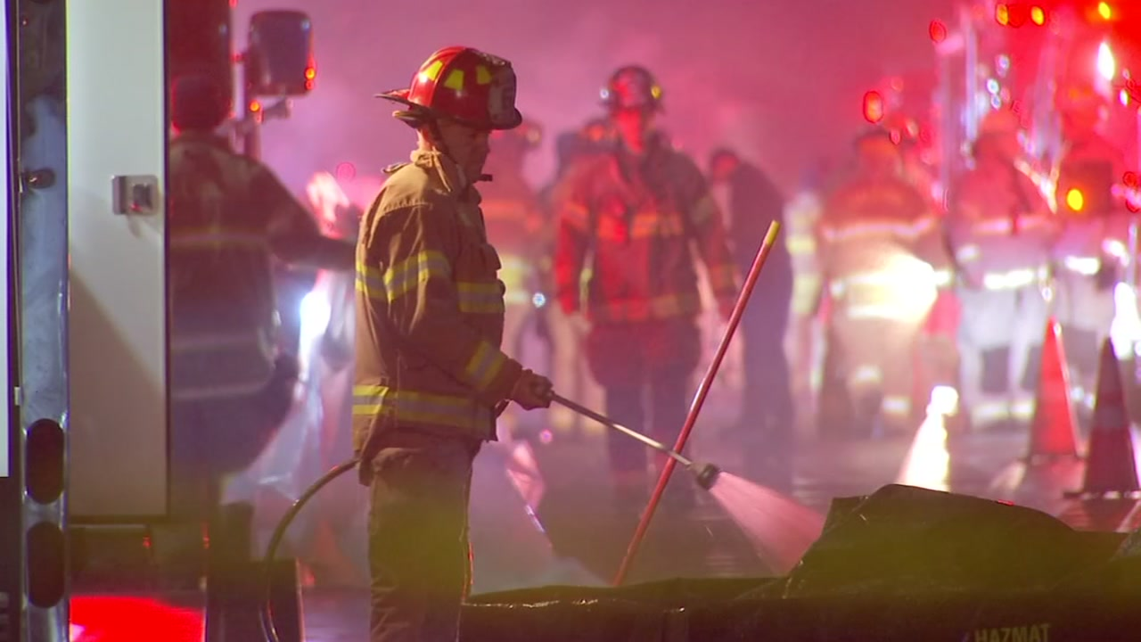 The fire department responded to an alarm at the NC Lottery headquarters on Capital Boulevard on Monday night.