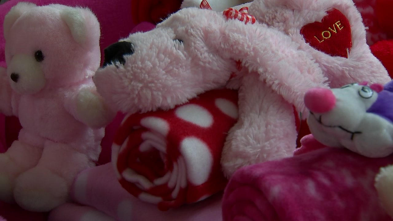 Hundreds of nursing home residents in North Carolina will receive special handmade Valentines.