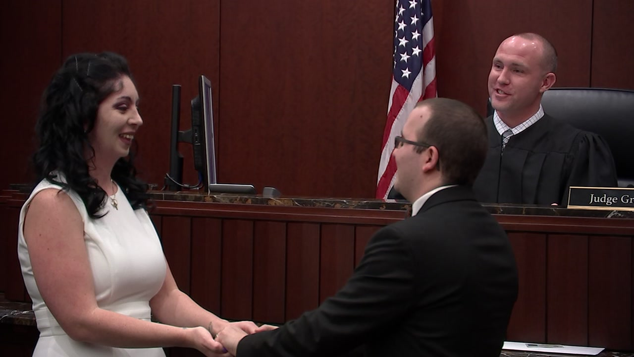 Many couples opt for a courthouse wedding to keep from starting out their wedded bliss deep in debt.