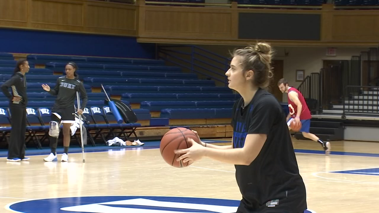 Haley Gorecki has overcome a lot of adversity to become a leader for Duke.