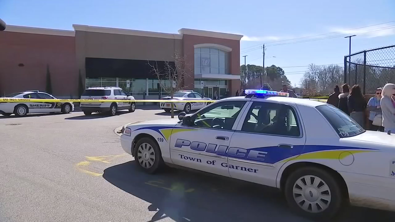 Police are investigating after two people were shot at a Walgreens in Garner Thursday morning.