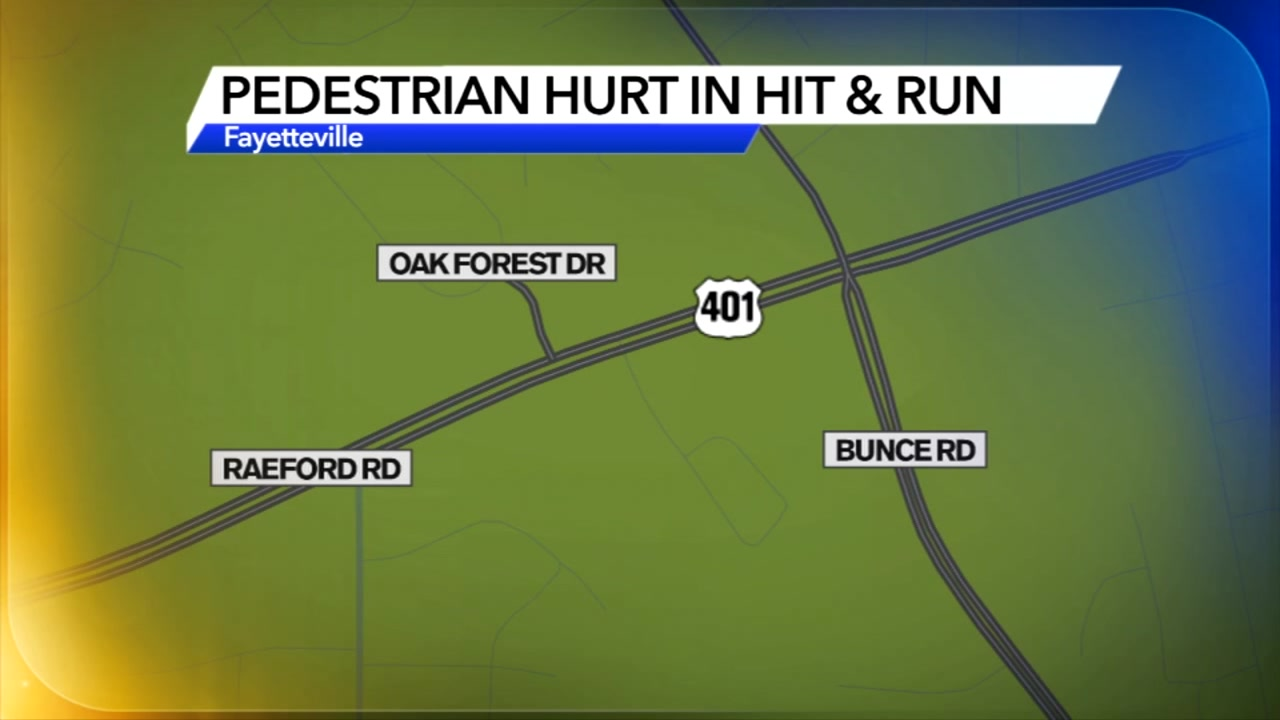 Fayetteville police are investigating after a pedestrian was struck during a hit-and-run on Raeford Road.