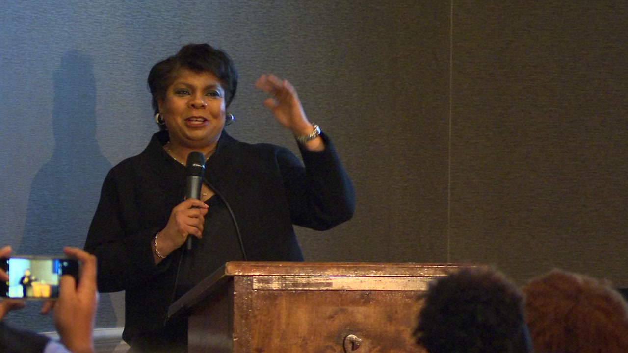 On Friday, White House correspondent April Ryan kicked off the National Association of Black Journalists Regional Summit in Raleigh.