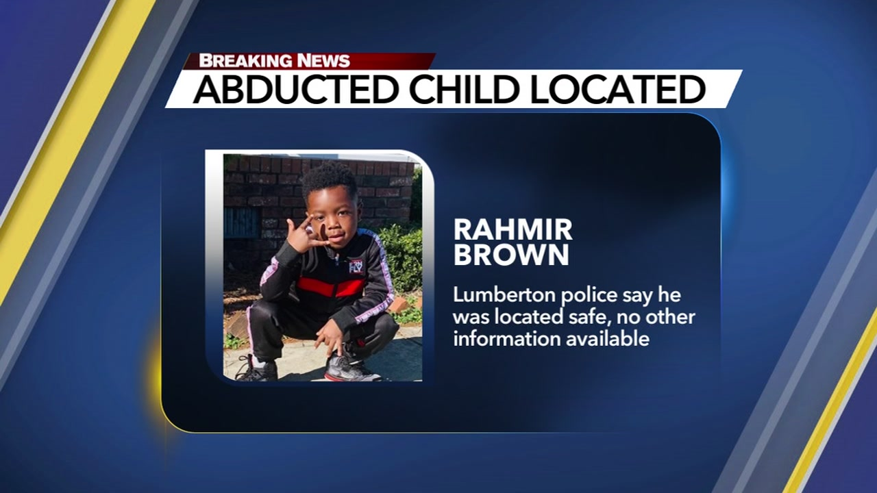 Child abducted in stolen vehicle found safe in Florence County