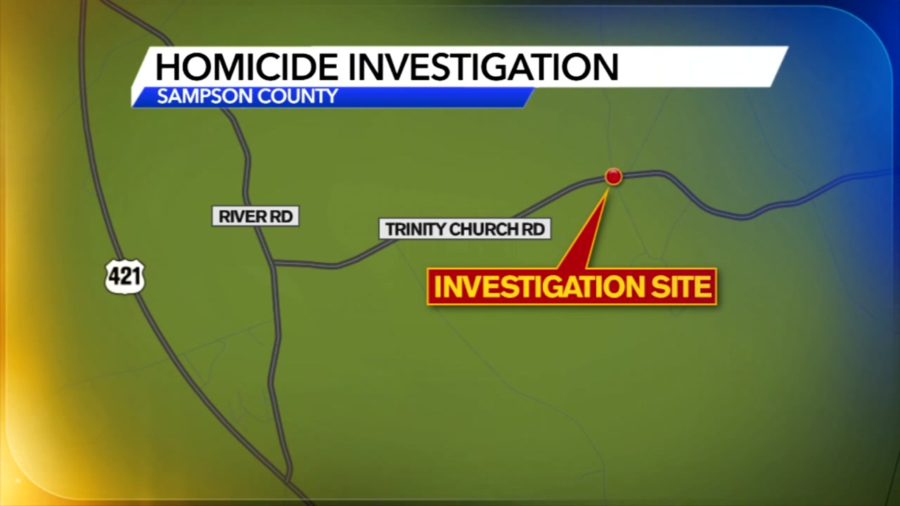 Investigation underway after body found in Sampson County home