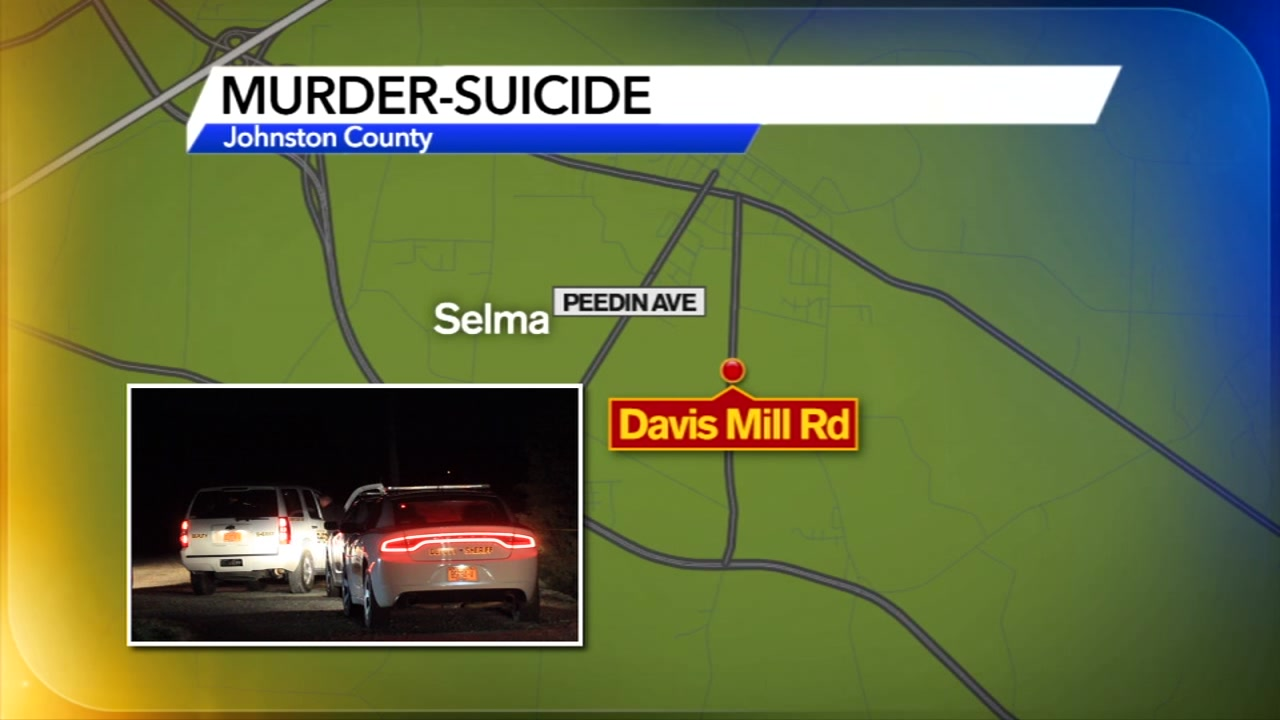 The Johnston County Sheriffs Office is investigating an apparent murder-suicide after two people were found dead inside a home Monday night.