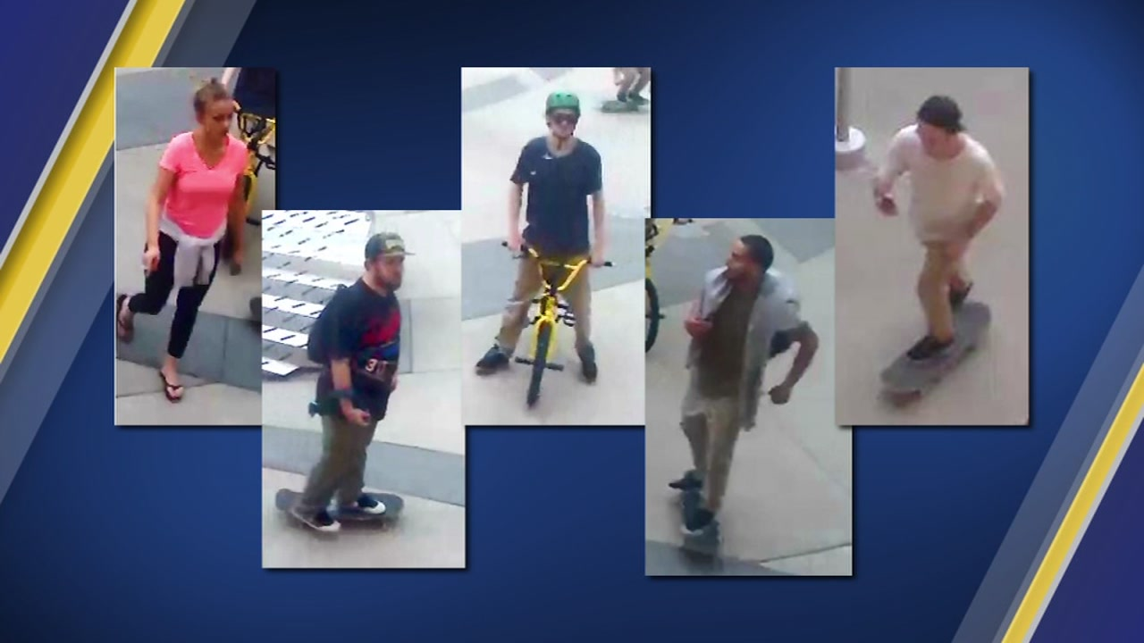 Chapel Hill police are seeking the publics help in identifying and locating five people in connection to an assault.