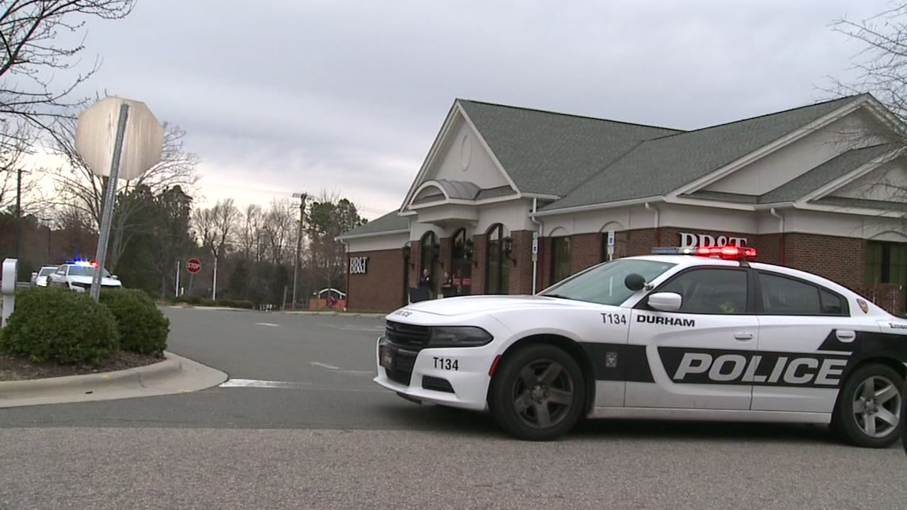 Third Durham BB&T branch robbed in a week.