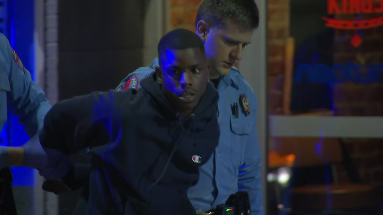 One person is in custody after police said he shot a 19-year-old man Monday night.