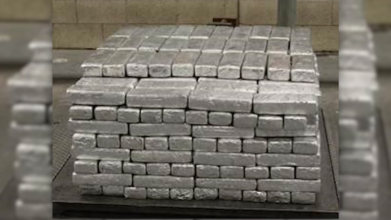 Customs and Border Protection agents intercepted nearly $13 million worth of methamphetamine inside a truck carrying frozen strawberries that crossed into the U.S. from Mexico.