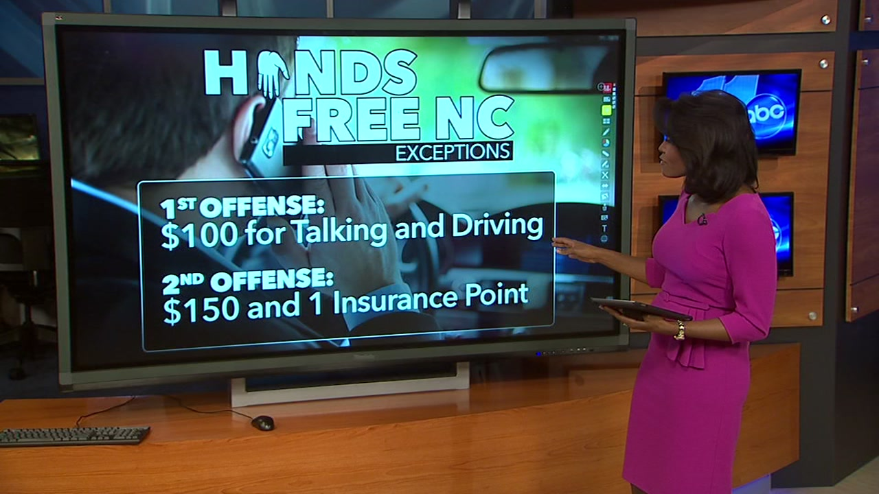 A new bill proposed in the House Thursday would make it illegal in North Carolina to use hand-held communication devices, such as cell phones, behind the wheel while driving.