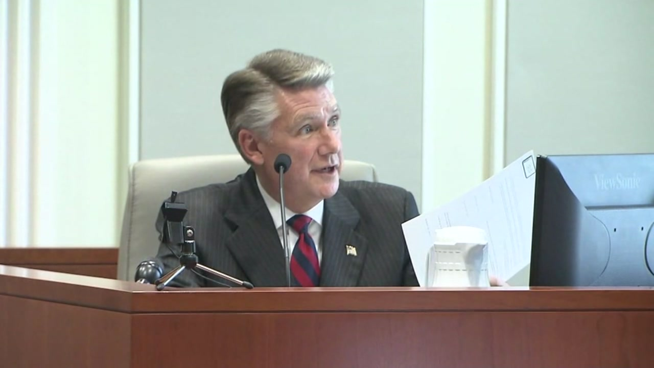 After hours of testimony Thursday, Mark Harris told the North Carolina State Board of Elections that he supports a new election in the 9th Congressional District race.