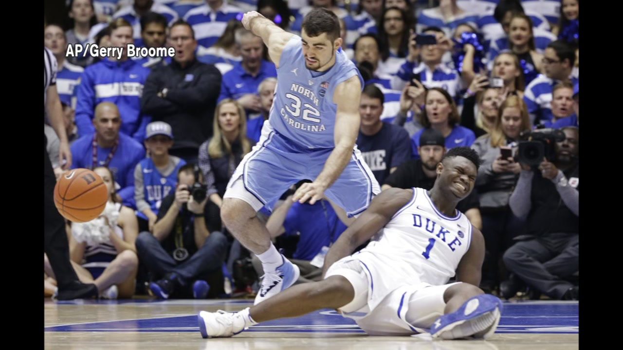 It was the injury heard around the social media world.  Everyone is talking about Zion Williams knee injury and at the center of it all is a Nike sneaker.