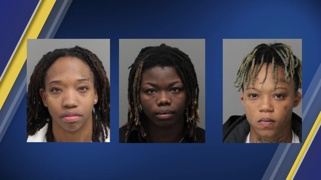 3 women accused of robbing gas station in Cary