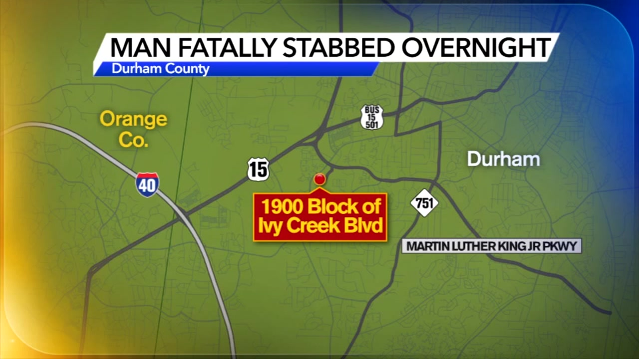 Man fatally stabbed in Durham