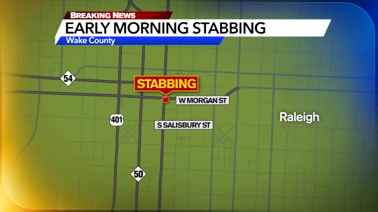 Raleigh police are investigating after one person was stabbed near downtown around 2 a.m. Sunday.